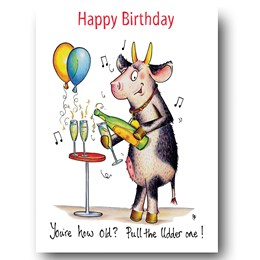 Pull the Udder One Greeting Card