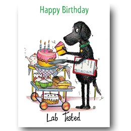 Lab Tested Greeting Card