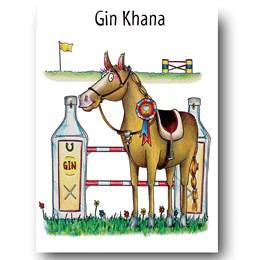 Ginkhana Greeting Card