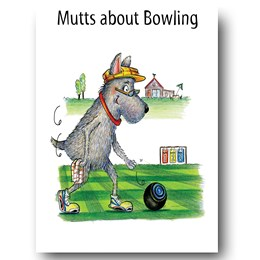 Mutts about Bowling Greeting Card