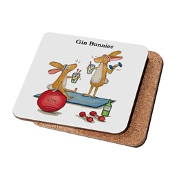 Gin Bunnies Coaster