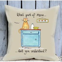 Meow Cushion Large