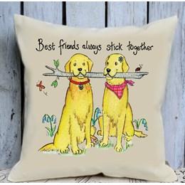Best Friends Cushion Large
