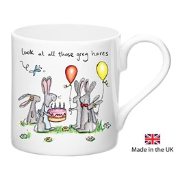 Grey Hares Mug