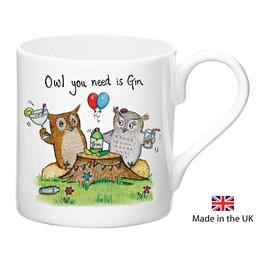 Owl Gin Mug