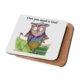 Owl Golf Coaster
