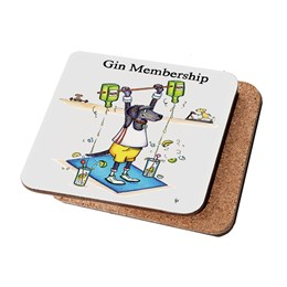 Gin Membership Coaster