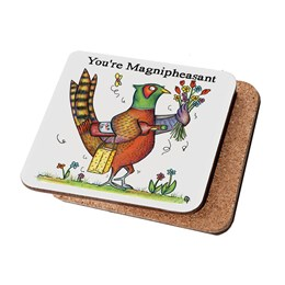 Magnipheasant Coaster