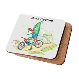 Bean Cycling Coaster (Pack of 6)