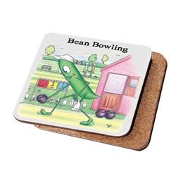 Bean Bowling Coaster