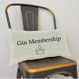 Gin Membership Cushion Small