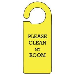 Clean My Room Door Hanger