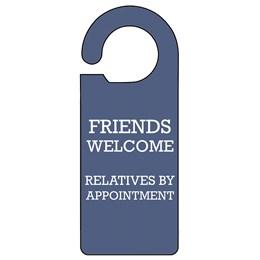 Friends Door Hanger