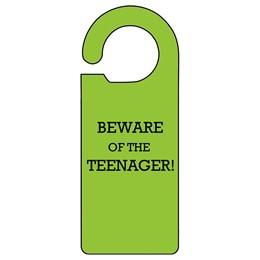 Teenager Door Hanger