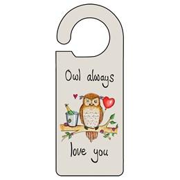 Owl Love you Door Hanger