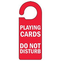 Playing Cards Door Hanger