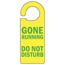 Gone Running Door Hanger