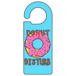 Donut Disturb Door Hanger