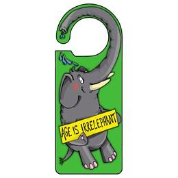 Irrelephant Door Hanger
