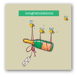 Congratulations Embellishment Card