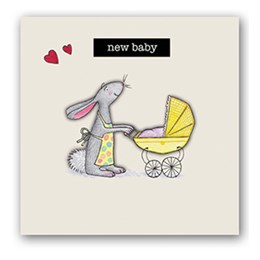 New Baby Embellishment Card
