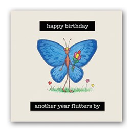 Butterfly Embellishment Card