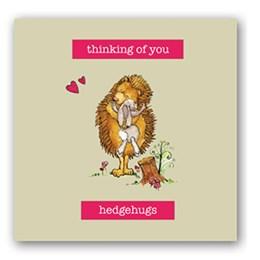 Hedgehugs Embellishment Card