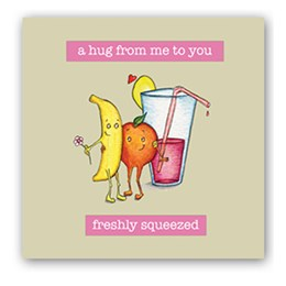 Freshly Squeezed Embellishment Card