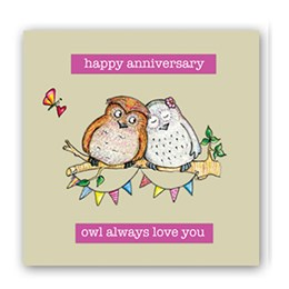 Owl Love You Embellishment Card