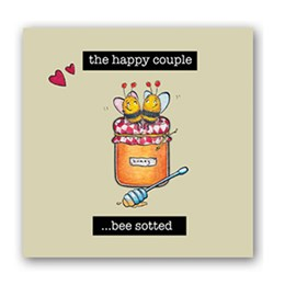 Beesotted Embellishment Card