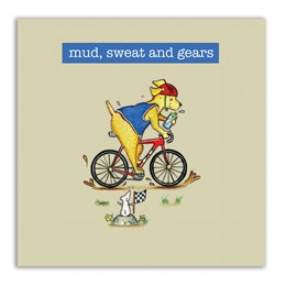 Mud, Sweat and Gears Embellishment Card