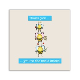 Bee's Knees Embellishment Card