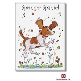 Spaniel Fridge Magnet