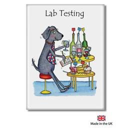 Lab Testing Fridge Magnet