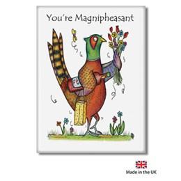 Magnipheasant Fridge Magnet