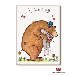 Bear Hugs Fridge Magnet