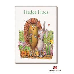 Hedge Hug Fridge Magnet