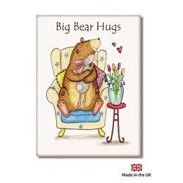 Big Bear Hugs Fridge Magnet