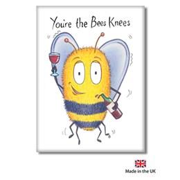 Bee's Knees Fridge Magnet