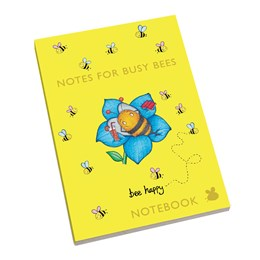 A5 Notebook Bee Yellow