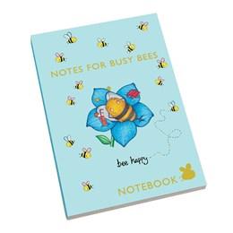 A5 Notebook Bee Blue