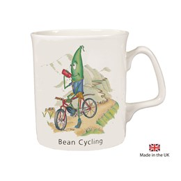 Bean Cycling Mug