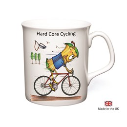Hard Core Cycling Mug