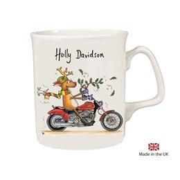 Holly Davidson Christmas Mug