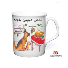 Shepherds Watched Christmas Mug