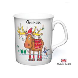 Christmoose Christmas Mug