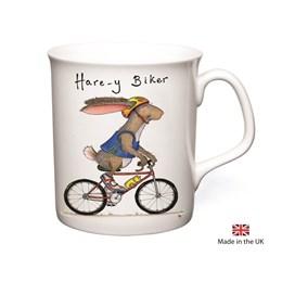 Hare-y Biker Mug