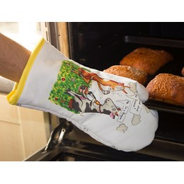 Mad Cow Oven Mitt