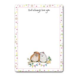 Owl Love Dry-Wipe Board