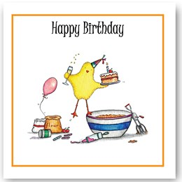 Birthday Chick Occasions Card
